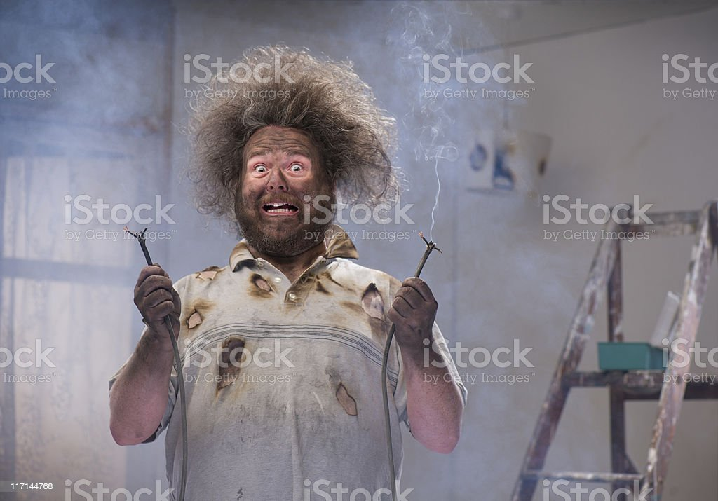 diy disaster royalty-free stock photo