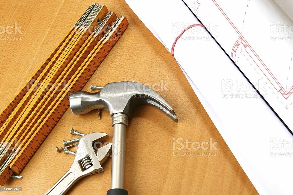 Diy tools stock photo