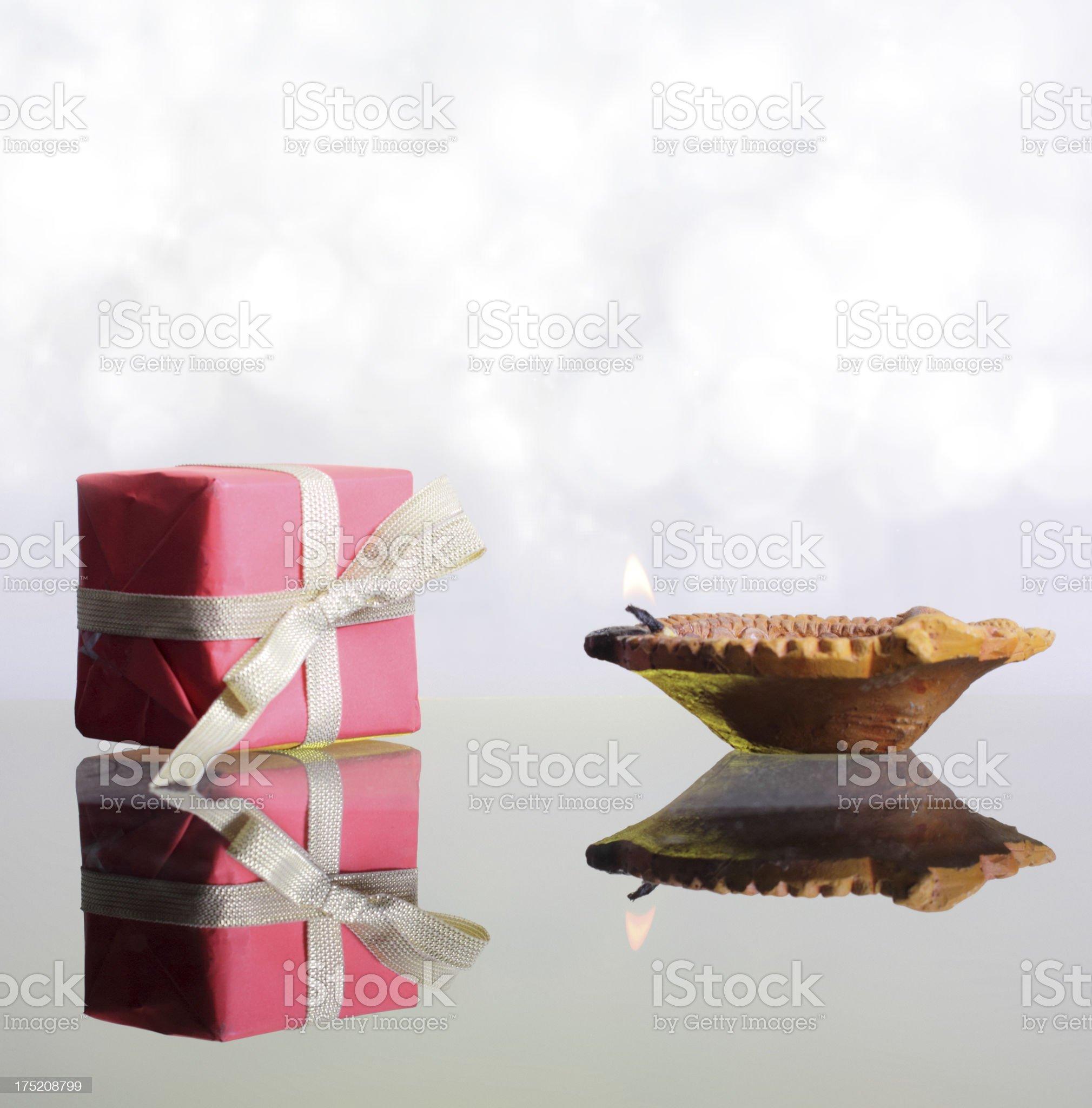 Diya royalty-free stock photo