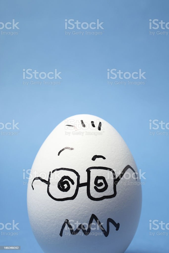 Dizzy Egg stock photo