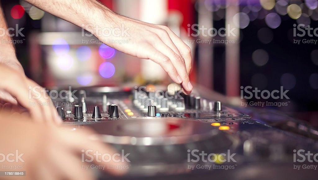 Dj royalty-free stock photo