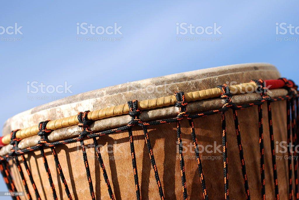Djembe Drum stock photo