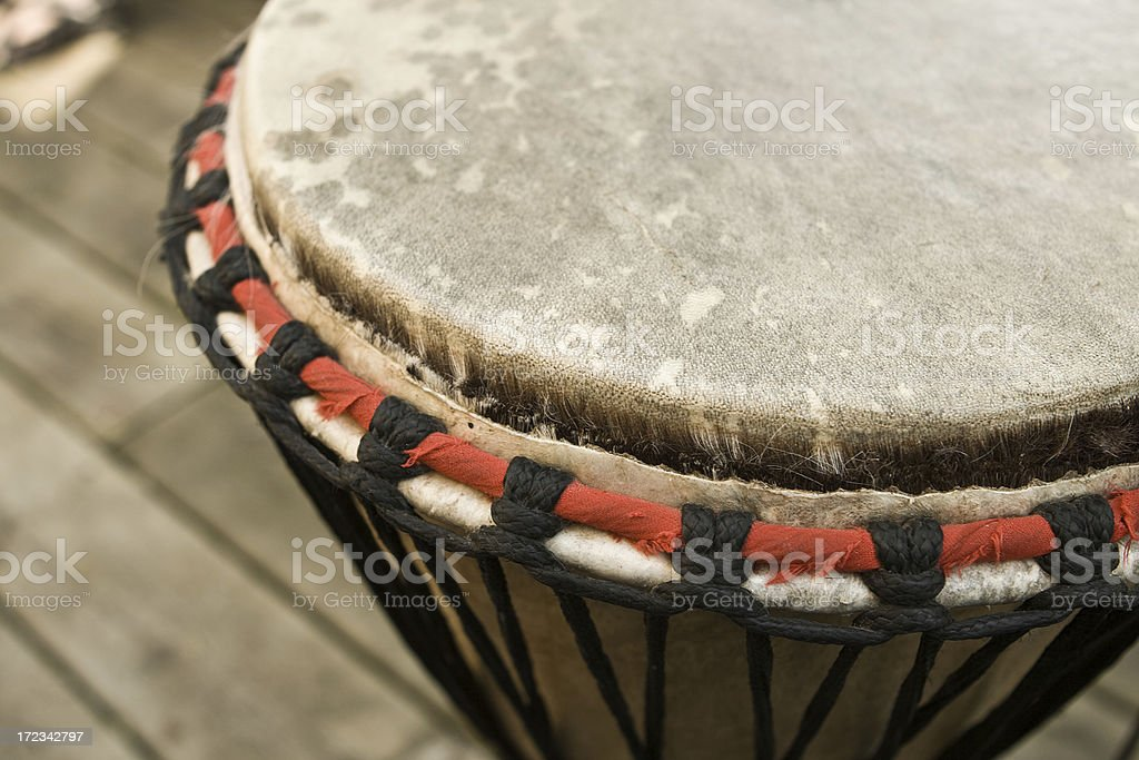 djembe hand drum royalty-free stock photo