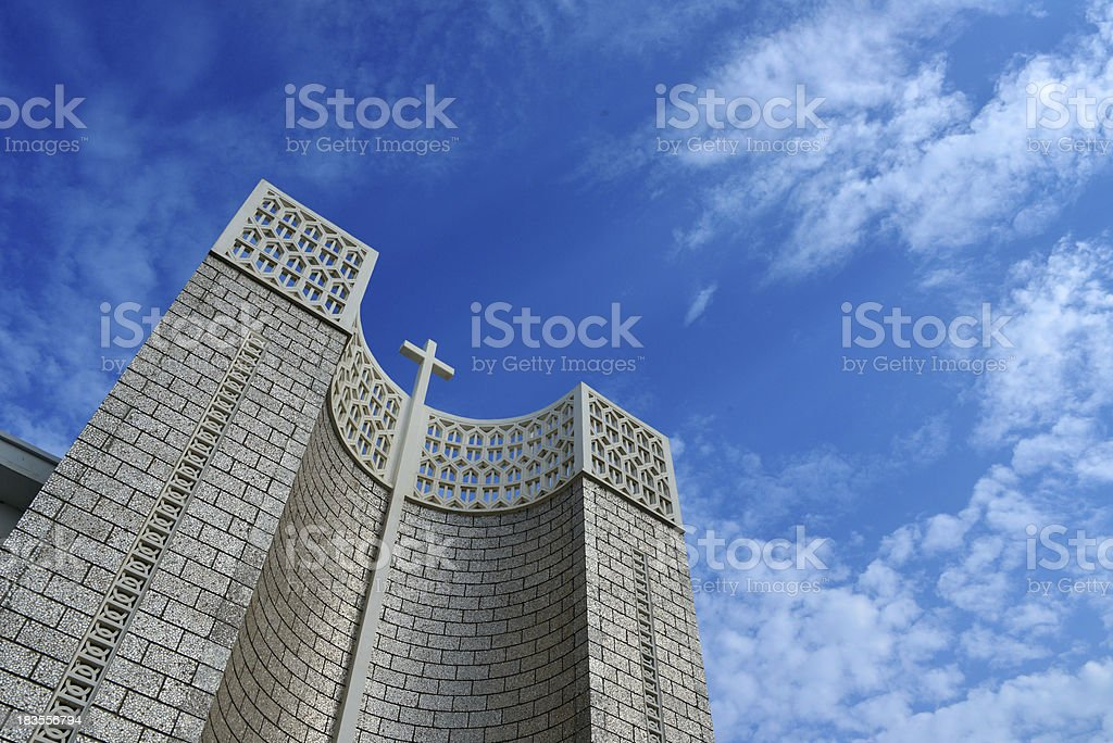 Djibouti: Catholic Cathedral - Our Lady of the Good Shepherd royalty-free stock photo