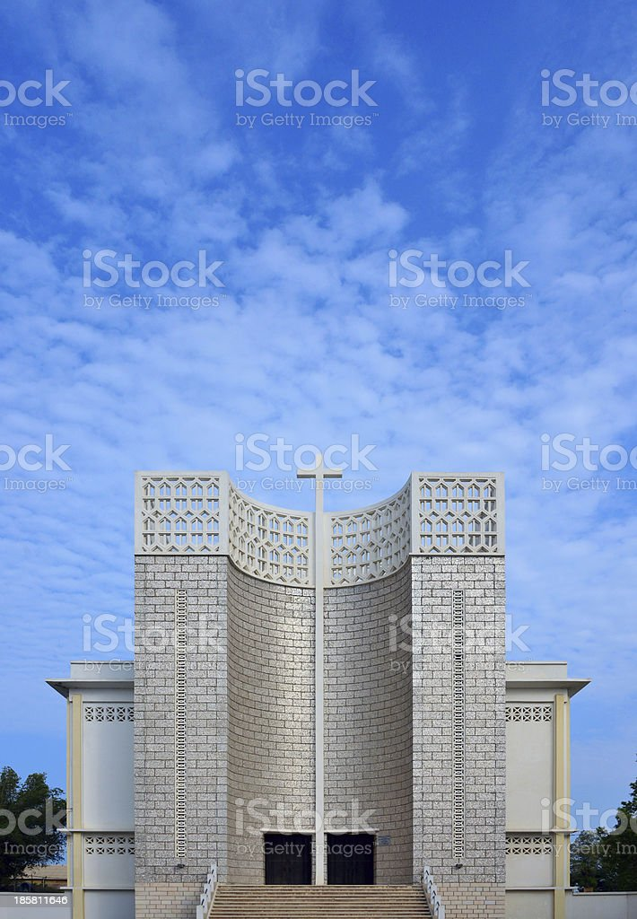Djibouti: Our Lady of the Good Shepherd Cathedral stock photo