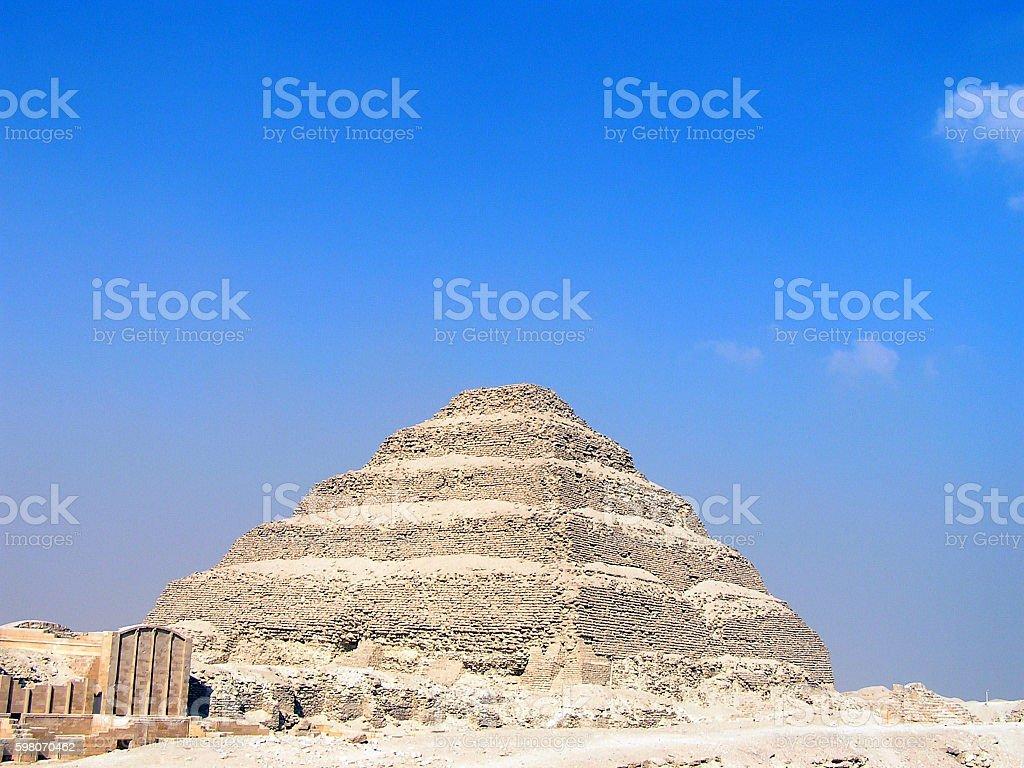 Djoser-Pyramide stock photo