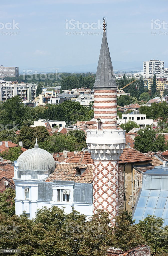 Djoumaia Mosque In Plovdiv, Bulgaria stock photo