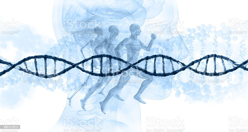 dna concept stock photo