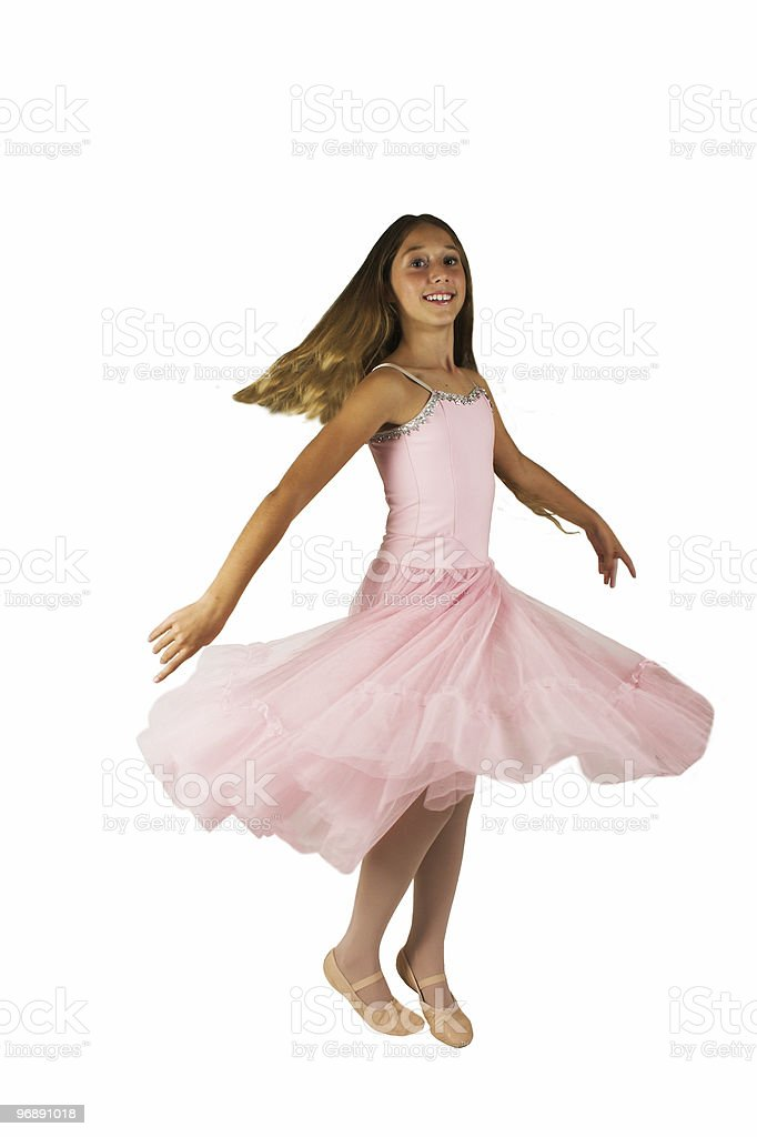 Do A Twirl royalty-free stock photo