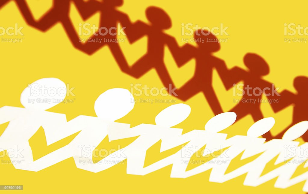 Do it Together royalty-free stock photo