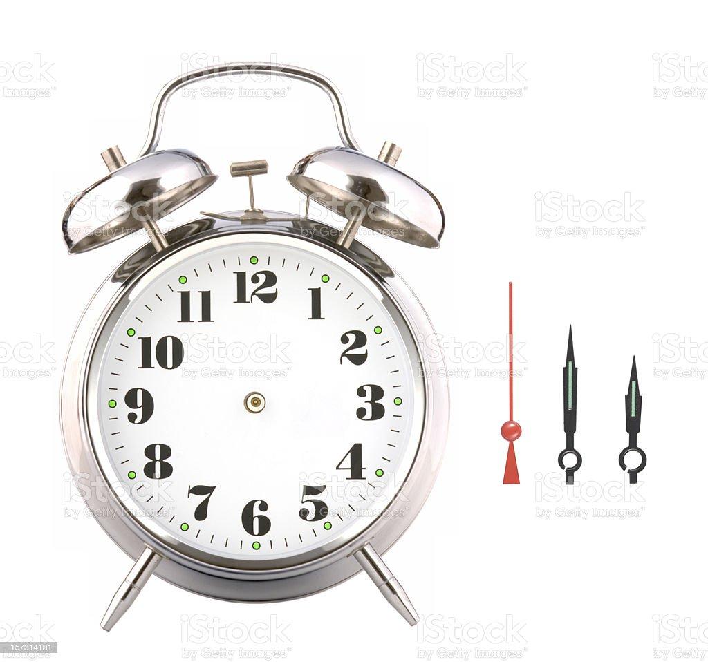Do it yourself alarm clock. royalty-free stock photo