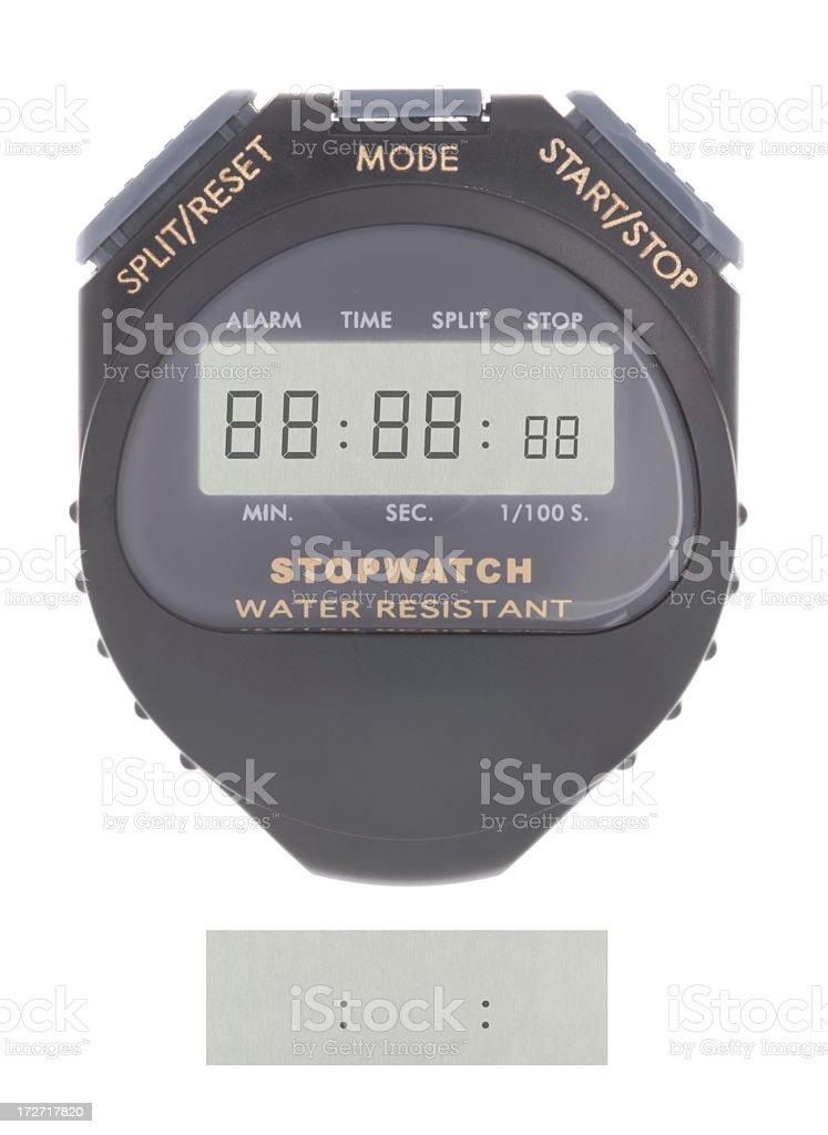 Do It Yourself Chronometer royalty-free stock photo