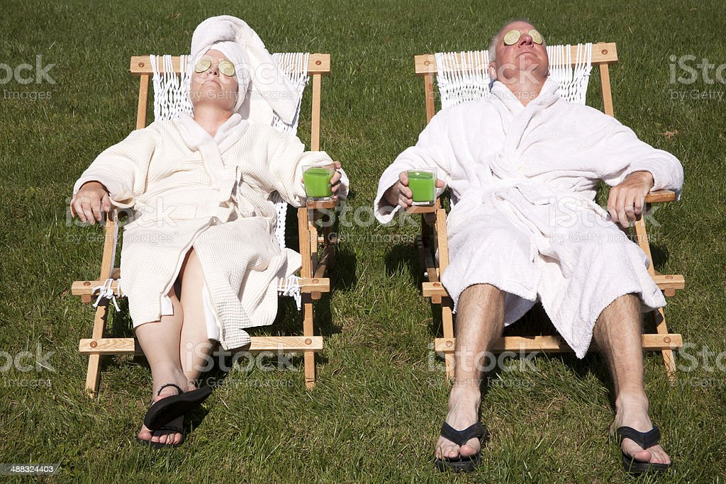 Do It Yourself Spa Day stock photo