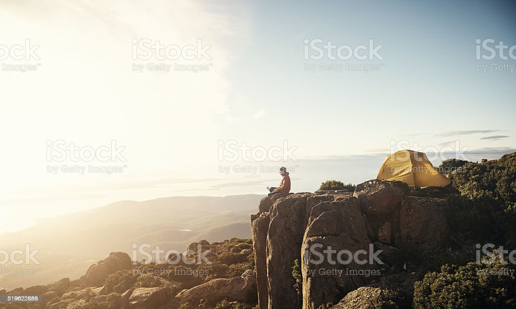 Do more than just exist stock photo