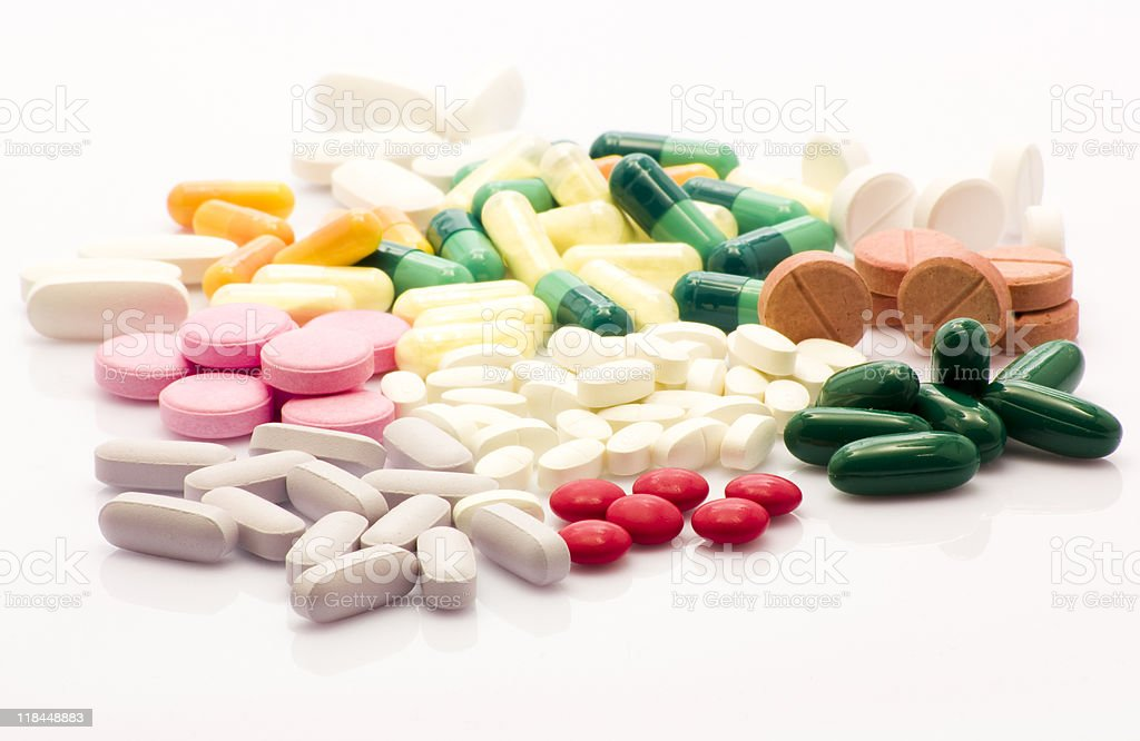 Do not be a medicine addict royalty-free stock photo