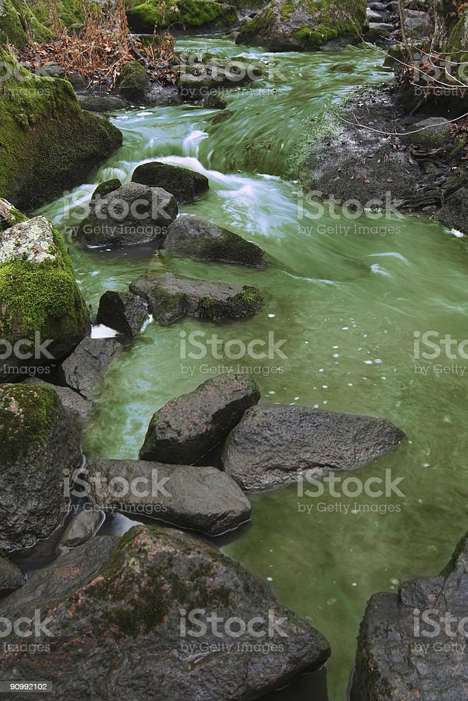 Do not drik the water royalty-free stock photo