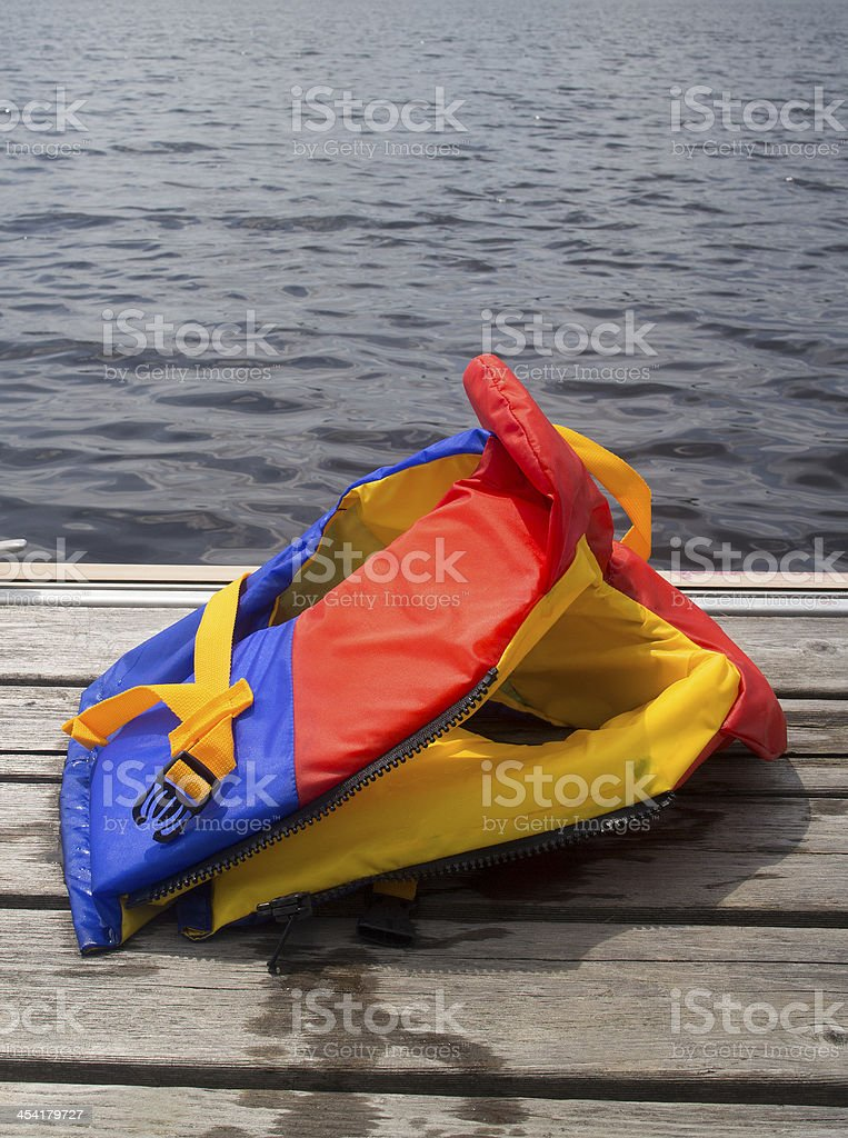 do not leave it on the pier royalty-free stock photo