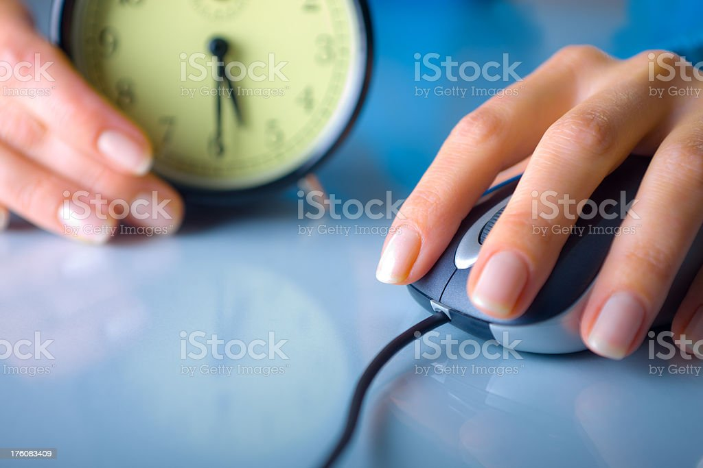 Do Not Lose Your Time stock photo