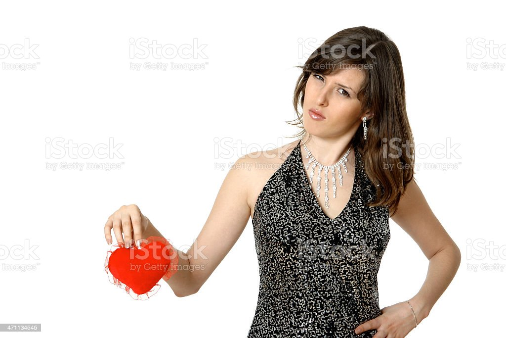 I do not need in your love! royalty-free stock photo
