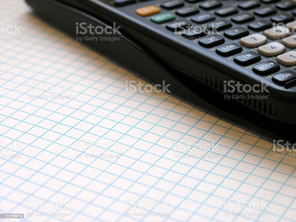 Do the Math royalty-free stock photo