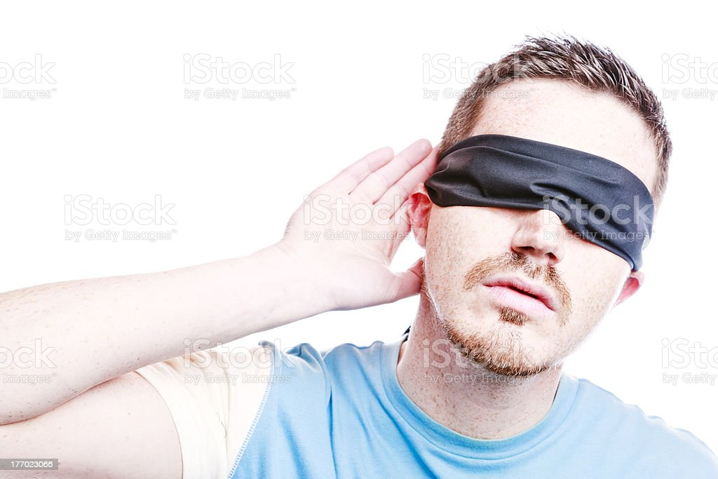 Do you catch my meaning? Comprehension Concept stock photo