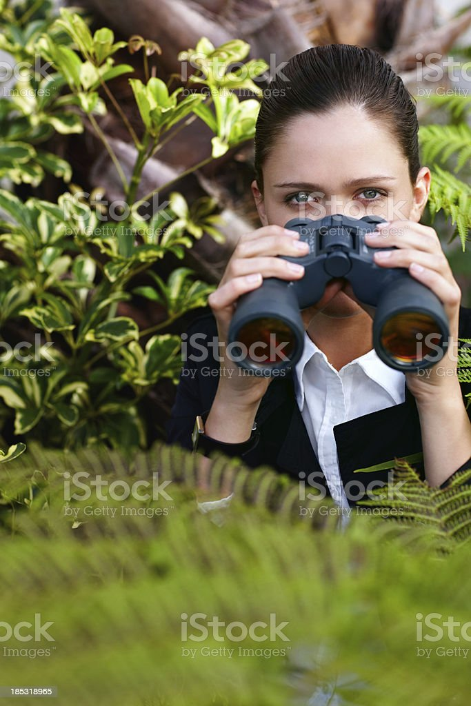 Do you know who's been watching you? royalty-free stock photo