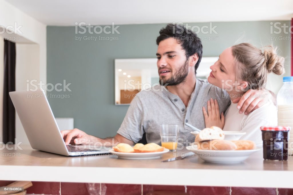 Do you know you look cute with beard stock photo