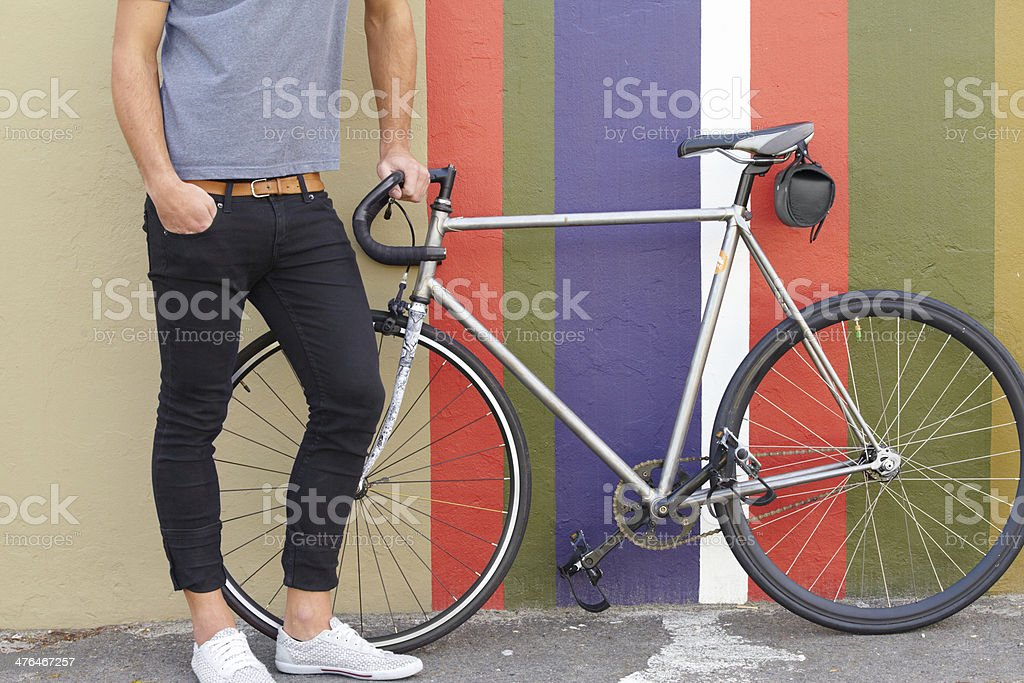 Do you like my ride? stock photo