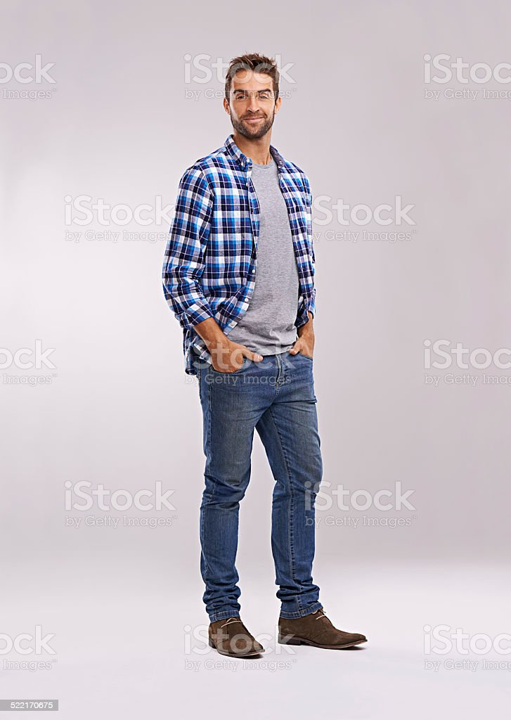 Do you like my style? stock photo