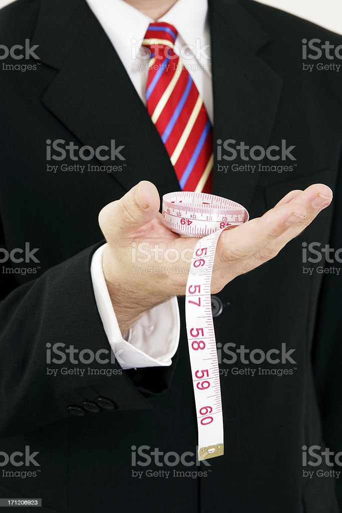 Do you Measure Up royalty-free stock photo