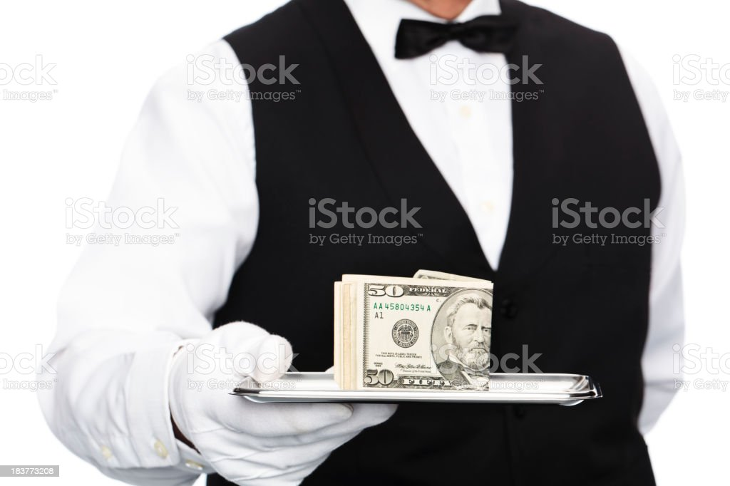 do you need money? stock photo