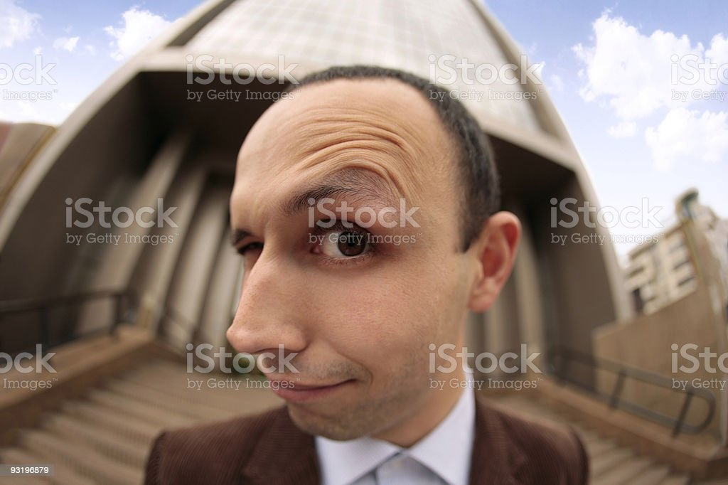 do you see me? stock photo