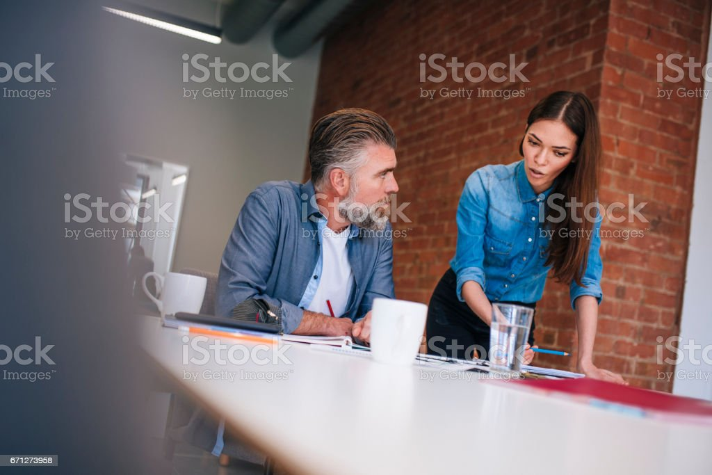 Do you think this is the best way to do it? stock photo