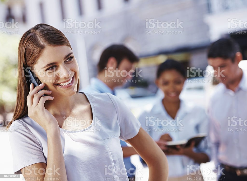 Do you wanna get together some time? royalty-free stock photo
