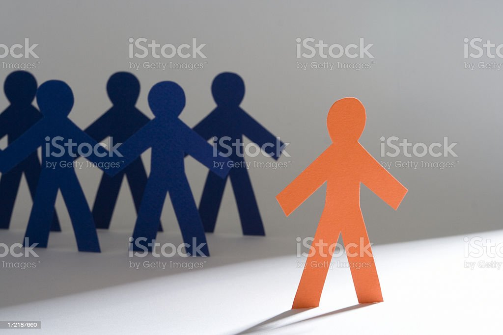 Do your own thing royalty-free stock photo