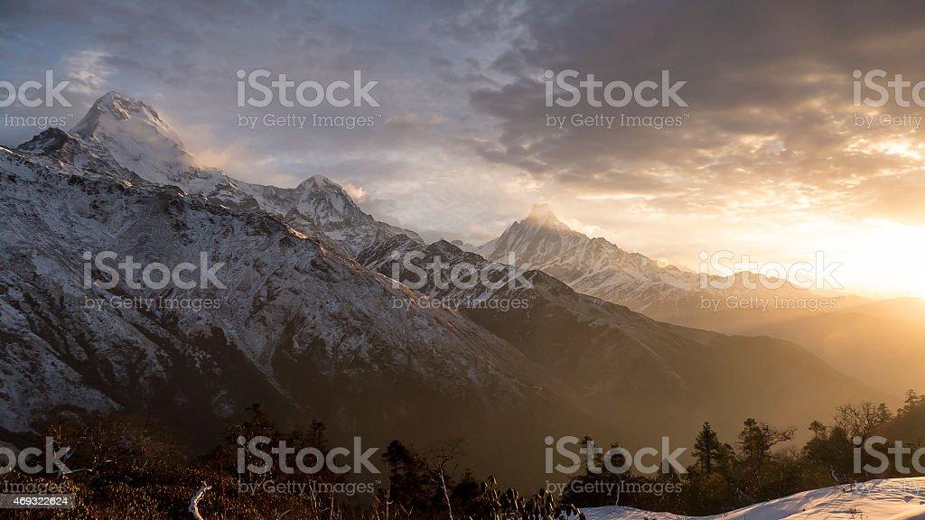 Dobato sunrise stock photo