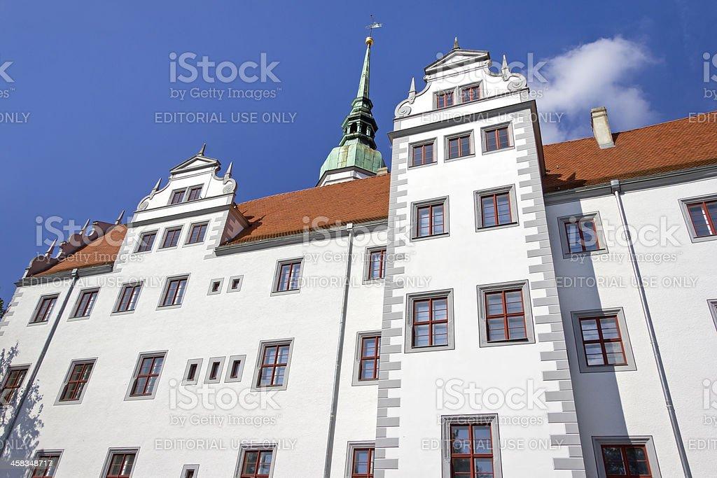 Doberlug Castle stock photo