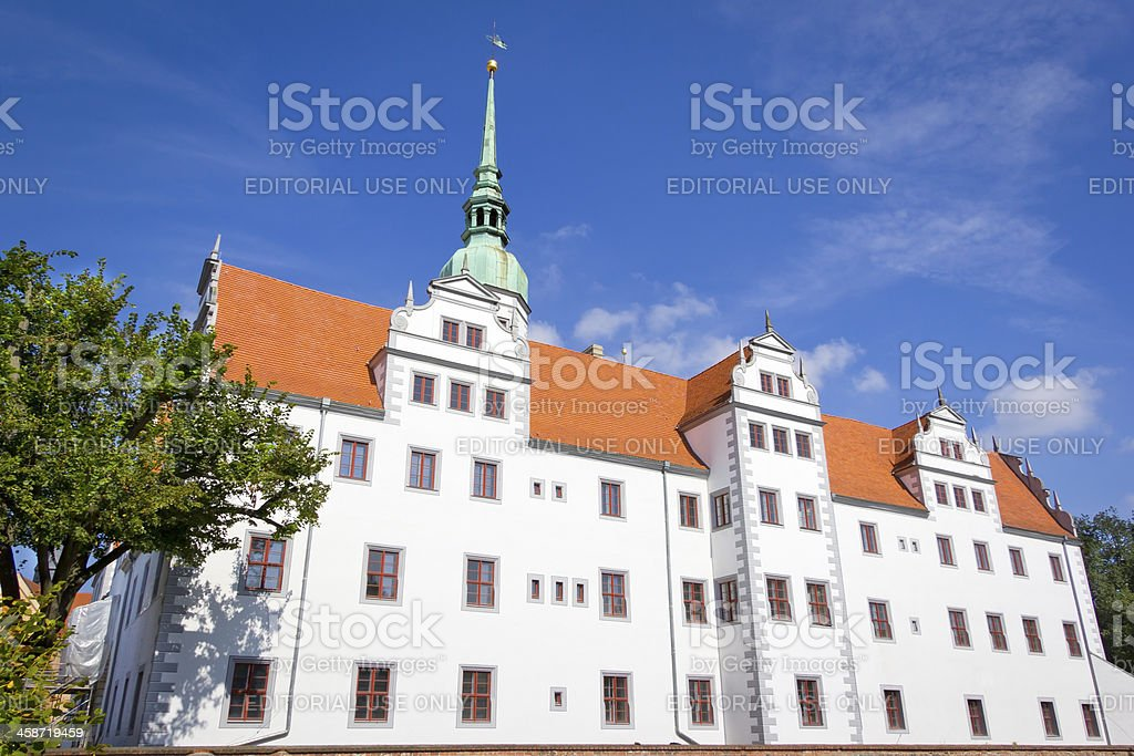 Doberlug Castle royalty-free stock photo