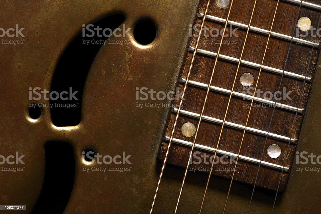 Dobro guitar royalty-free stock photo