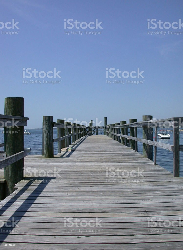 Dock at Lord's Point royalty-free stock photo