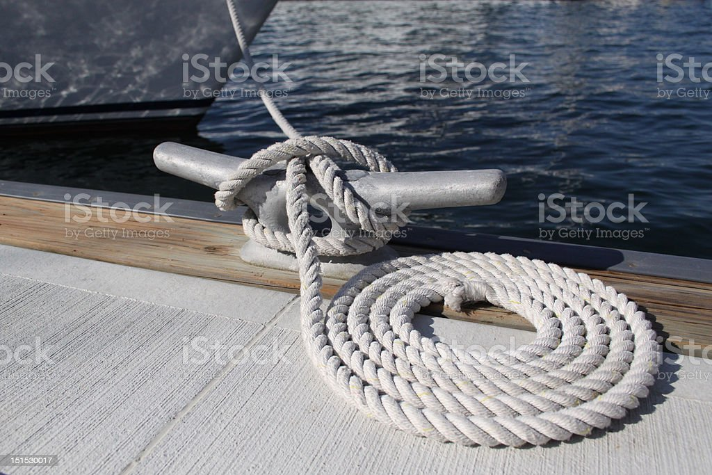 Dock Boat stock photo