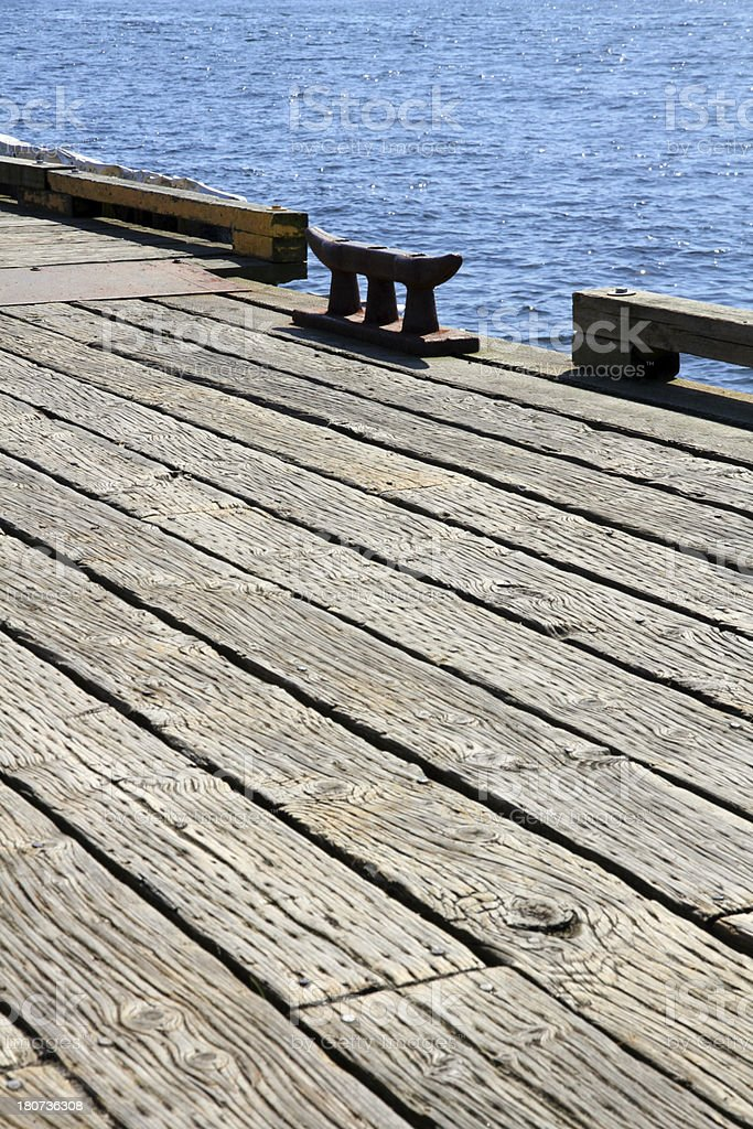 Dock Pattern royalty-free stock photo