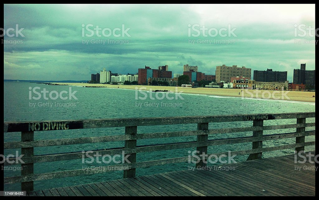 Dock royalty-free stock photo
