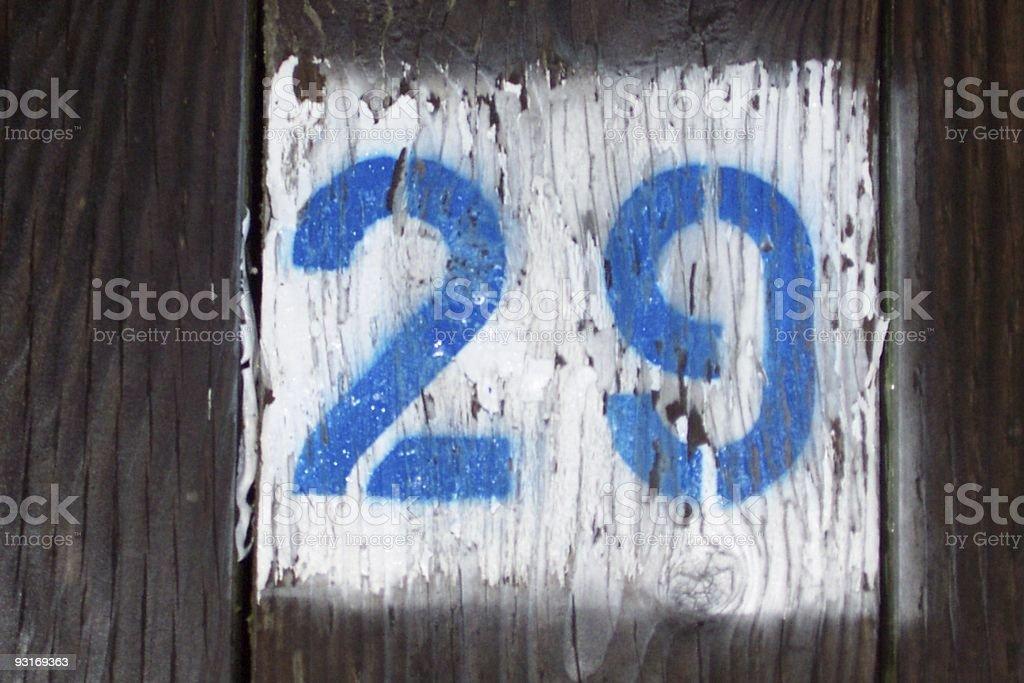 Dock #29 royalty-free stock photo