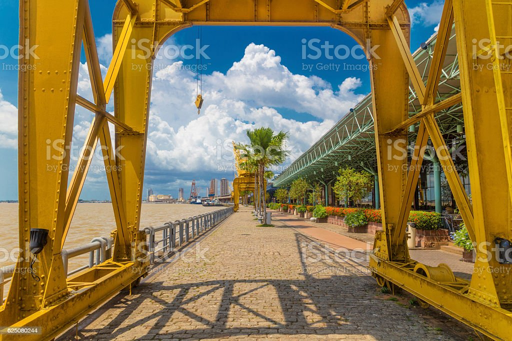 Estacao das Docas in Belem City stock photo
