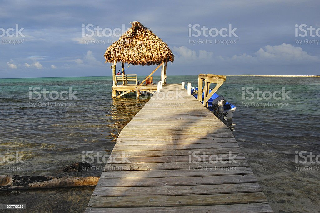 Dock to Go royalty-free stock photo