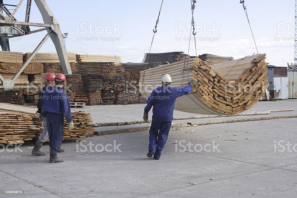 Dockers. stock photo