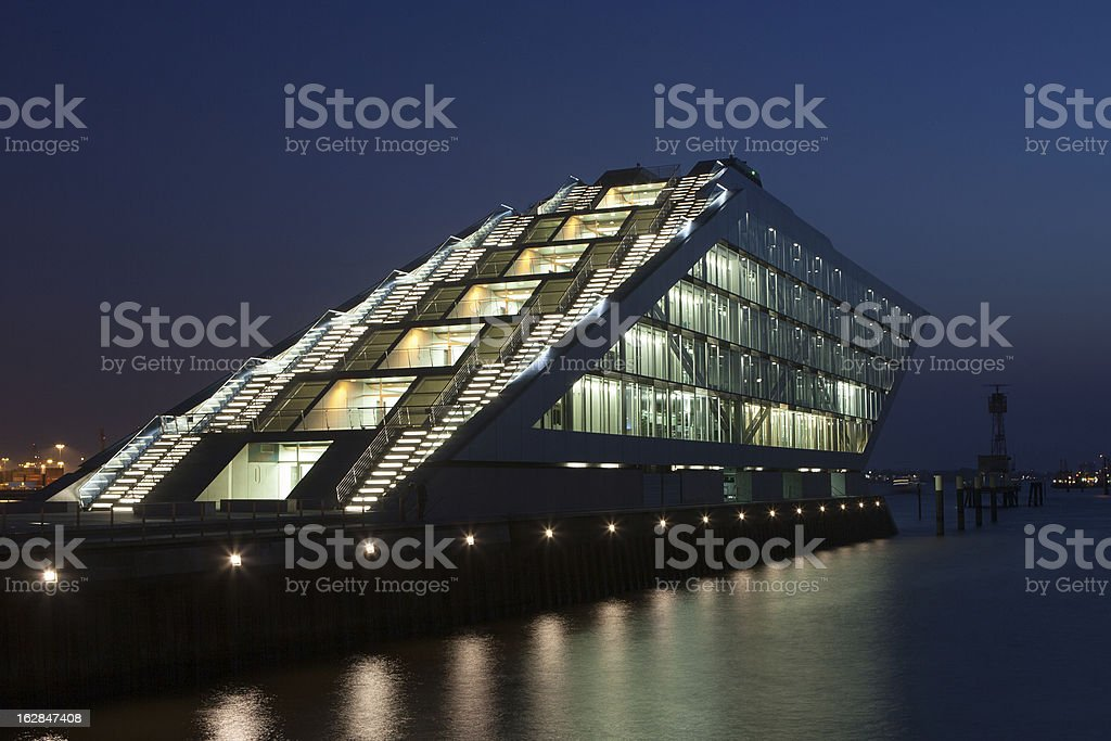 Dockland Office Building, Hamburg, Germany stock photo