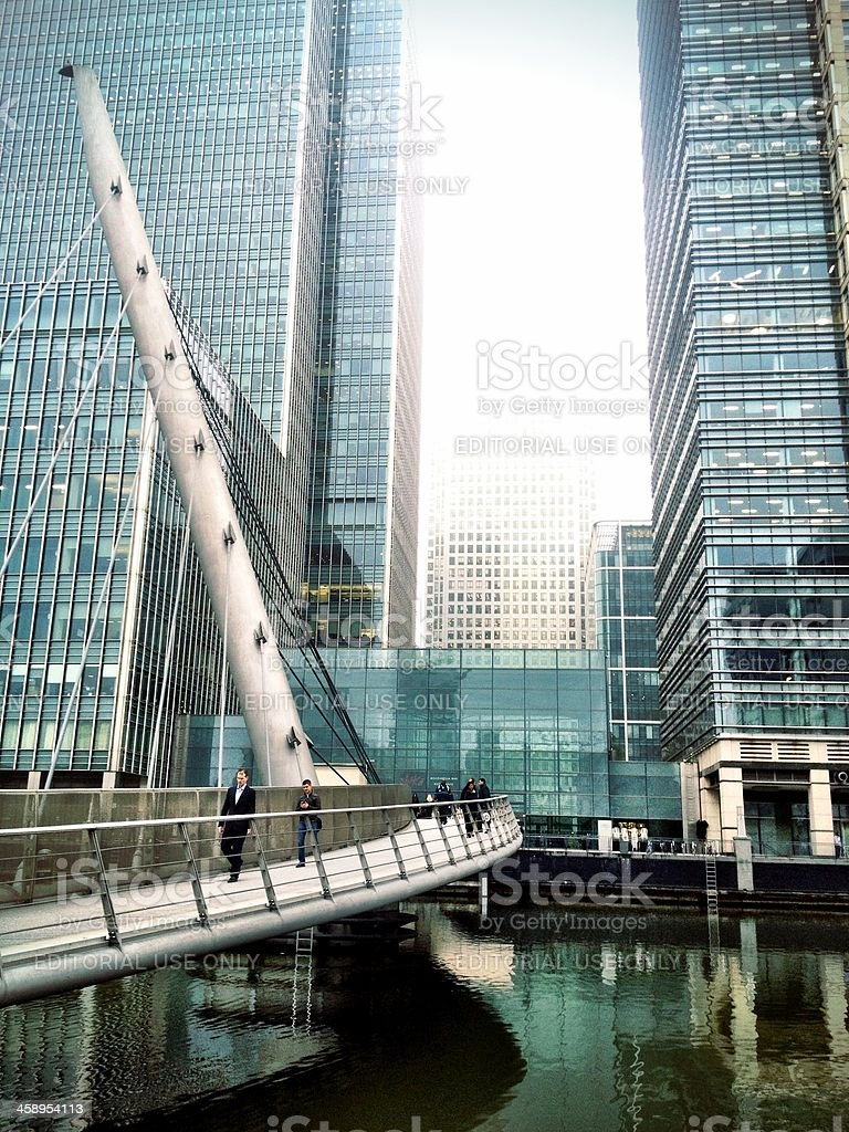 Docklands, London royalty-free stock photo