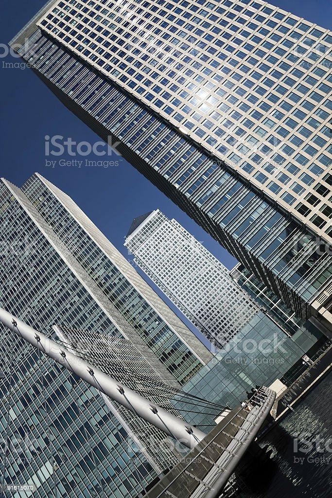Доклендс London Стоковые фото Стоковая фотография